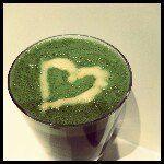Sheila Petersen #healthcoach #greendrink #valentinesday