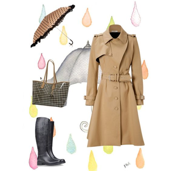 """Rainy day"" by mcmodaconsciente on Polyvore"