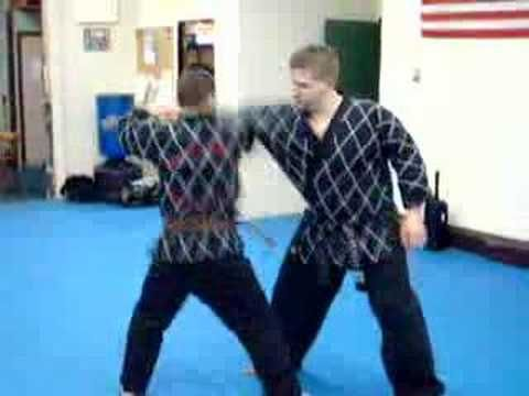 KAJUKIDO #KEMPO RYU- would have liked to see a more realistic reaction.