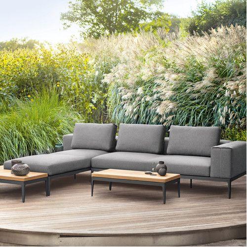 Morgans Bay Sofa With Armrest Right Outdoor Sofa Garden Furniture Inspiration Diy Outdoor Furniture