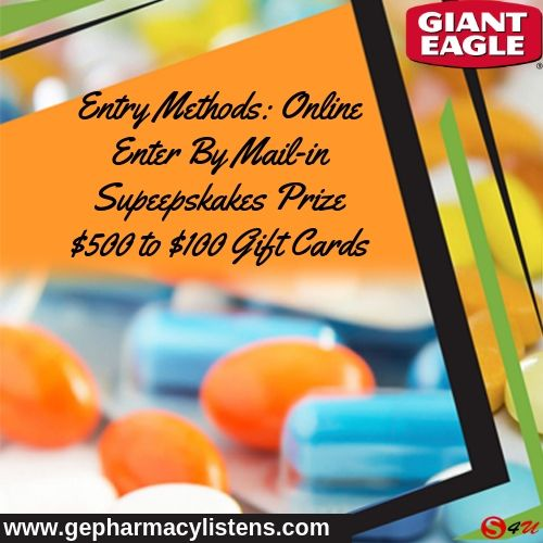Giant Eagle Pharmacy Survey Gift Cards Giant Eagle Https Www