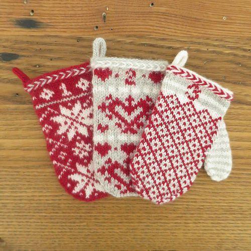 Advent Calendar Handmade Knitting : Advent calendar mittens and on pinterest