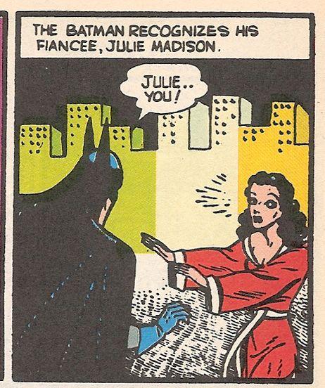 Tec 31 - More details of Bruce's personal life.  His fiancée Julie.