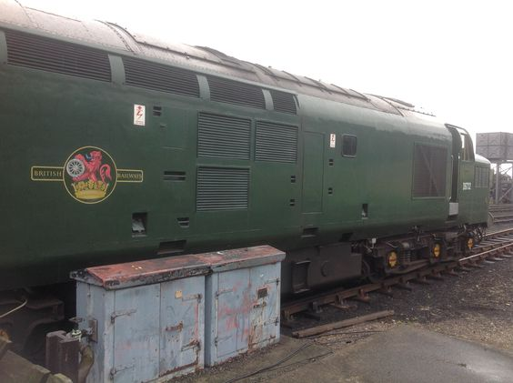 Class 37 D6732 at North Norfolk Railway.