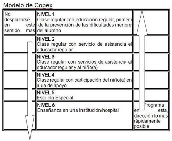 SISTEMAS DE ESCOLARIZACIÓN. MODELO COPEX