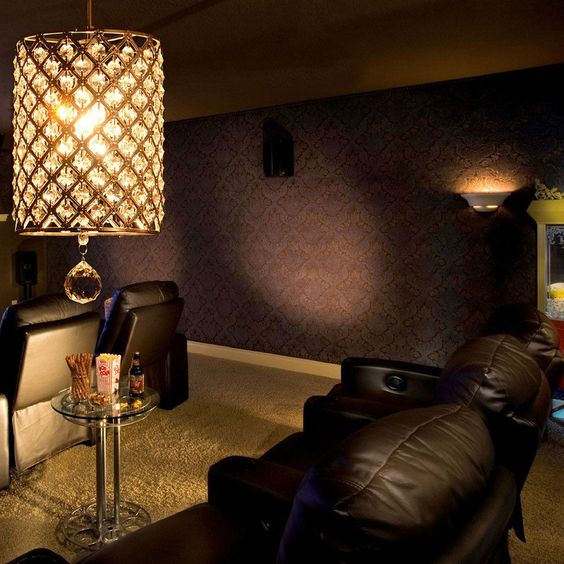 Crystal Chandelier Pendant Ceiling Fixture Lamp Lights Bedroom Dining Room US #Modern