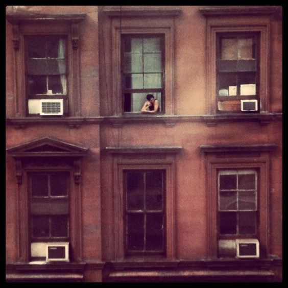 Window Watching by Henry Sene Yee