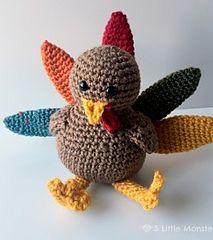 Make It: Turkey - Free Crochet Pattern #crochet #amigurumi #free #ravelry