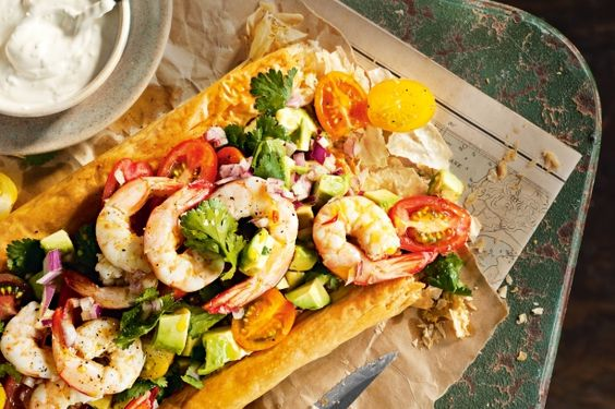 Make the most of fresh Australian seafood with this zesty tart teamed with avocado salsa.