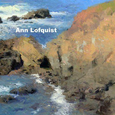 Marcia Burtt Gallery | Ann Lofquist pamphlet