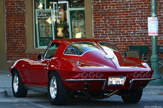 Taps usa and instagram on pinterest for 1967 corvette stingray split window