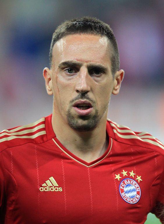 Franck ribéry joue pour le Bayern Munich en Allemagne