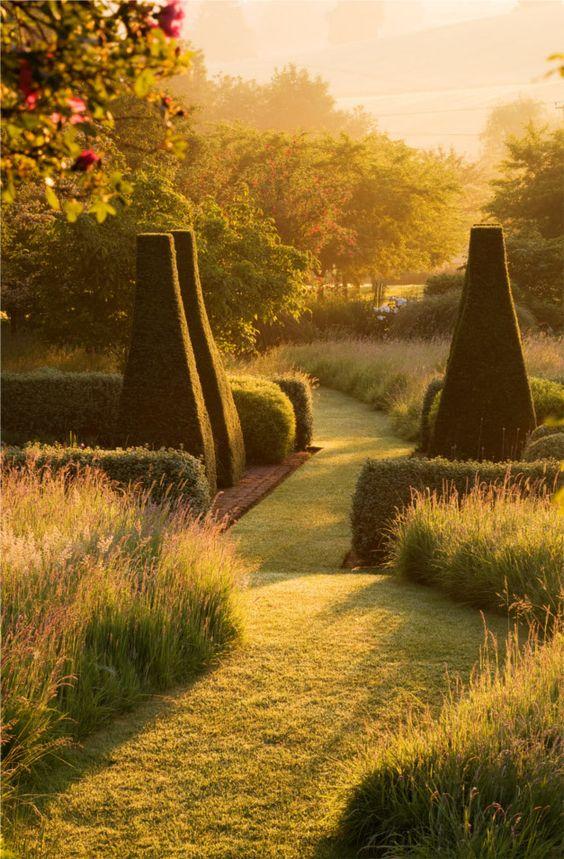 wild grass border, soothing sunlight....simply spellbinding!