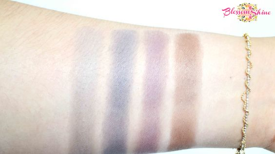 Contoh Warna Colour Box Mono Eyeshadow dengan Primer