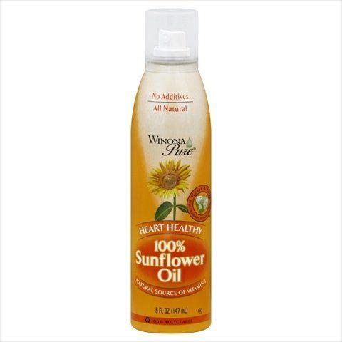 Winona Pure 5 oz. Sunflower Oil Spray - Case Of 6