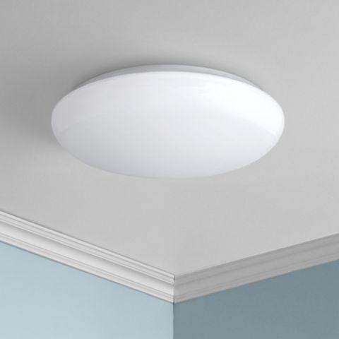 Levine Shallow Flushmount 11 Wide White Led Ceiling Light 1c030 Lamps Plus Ceiling Lights Led Ceiling Lights Led Ceiling