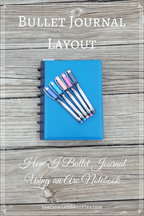 Bullet Journal Layout | Sarcasm & Sweet Tea