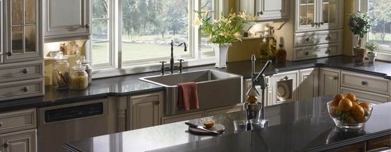 ... kitchen countertops absolute black kitchen stainless kitchen re do