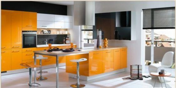 Küchen Designs in Orange  - http://wohnideenn.de/kuche/08/kuchen-designs-in-orange.html  #Küche