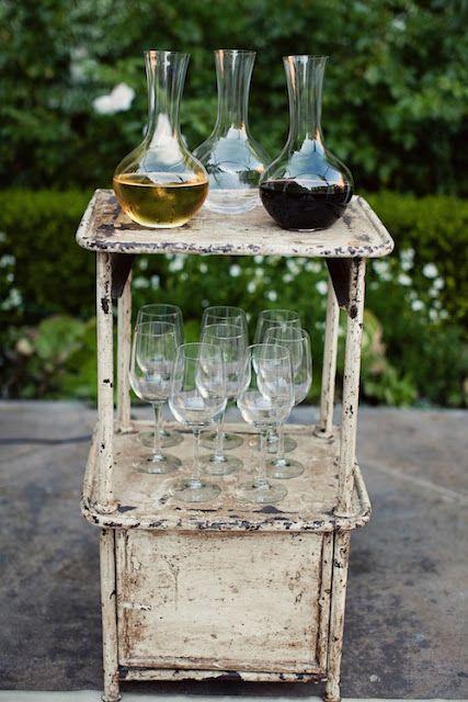 wine cart: Fab Ideas, Communion Ideas, Gift Ideas, Wine Bar, Serving Idea, Party Ideas