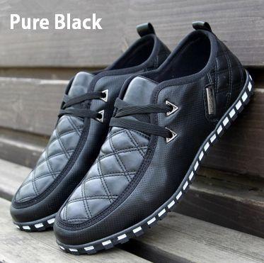 Mens Comfortable Loafers Lace up Leather Sneakers Driving Shoes Walker Trend Flats . . . . . der Blog für den Gentleman - www.thegentlemanclub.de/blog