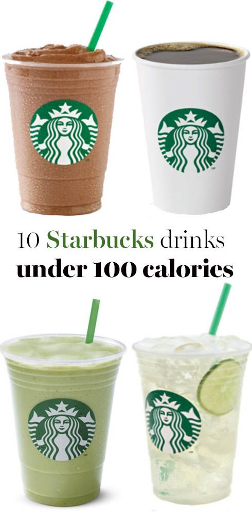 The lowest calorie drinks on the Starbucks menu