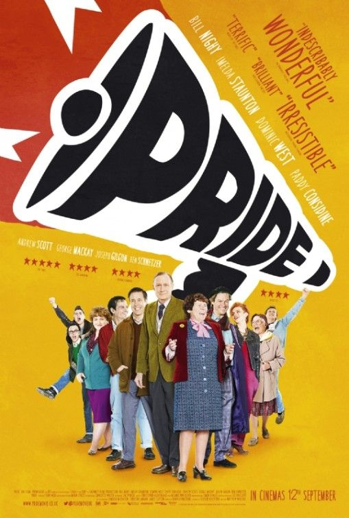 TODAY'S PICTURE OF THE DAY: PRIDE 2014 Movie Poster