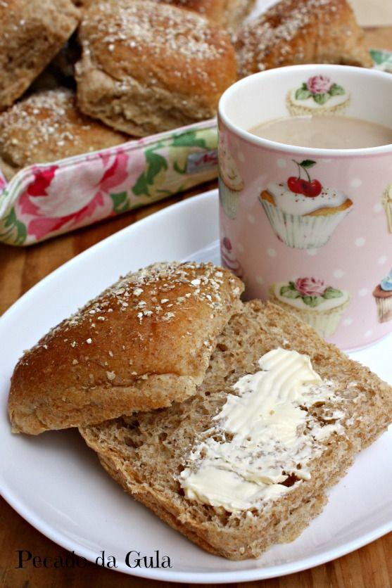 PECADO DA GULA: Pão de batata integral
