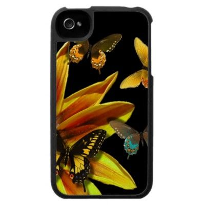 Butterfly Gardens Case For The Iphone 4