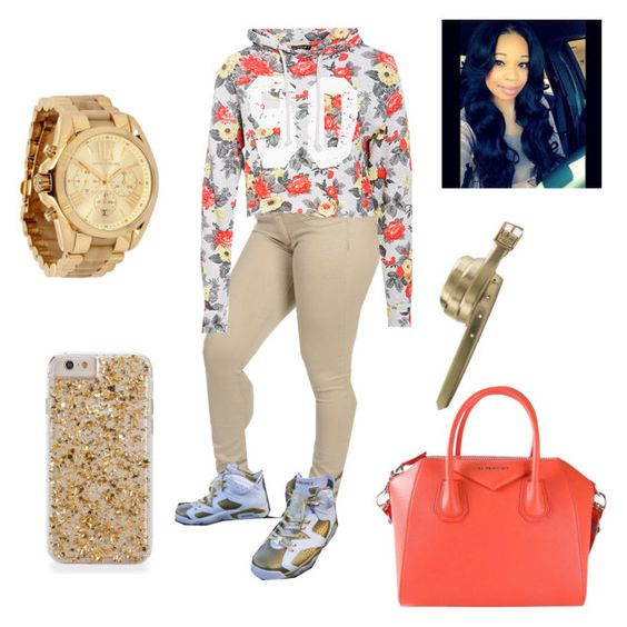 """""""LUNCH WIT SQUAD"""" by bribriwilliams ❤ liked on Polyvore featuring Givenchy and J.Crew"""