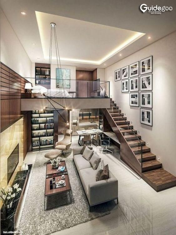 The Most Beautiful Houses In The World In 2020 Loft House Design Small House Interior Design Small House Interior