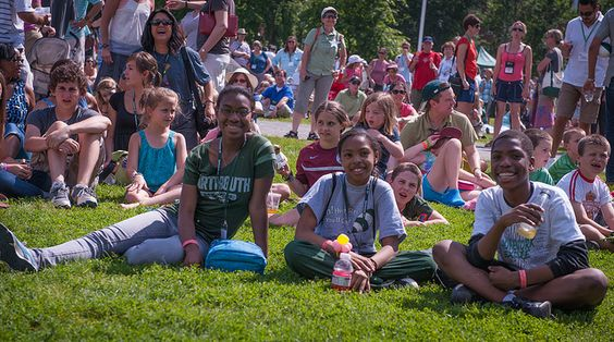 The first-ever all-alumni celebration on the Green, with ice cream and a performance by STOMP