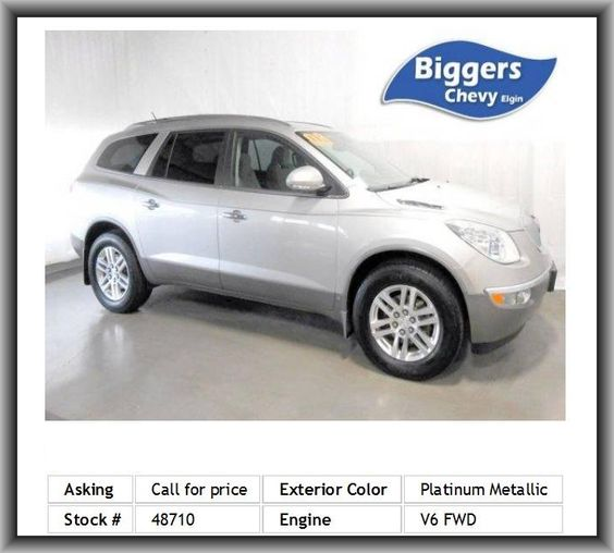 2008 Buick Enclave CX SUV  Front Wheel Drive, Cloth Seats, Quad Bucket Seats, Satellite Radio, Power Door Locks, Leather Steering Wheel, Bucket Seats