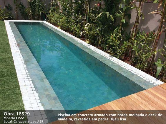 Piscinas piscina piscina de azulejo piscina de pastilha for Construir piscina concreto