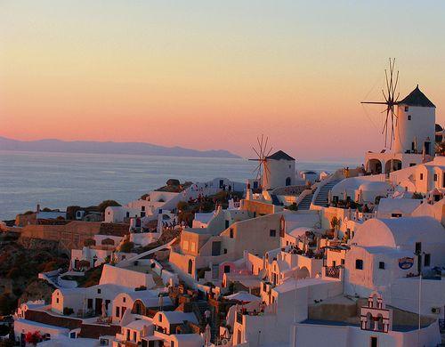 Oia, Santorini - Sunset