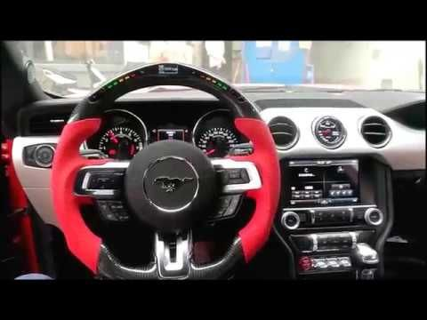 Led Steering Wheel For Ford Mustang From Ohc Motors Steering