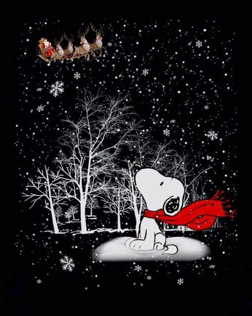 Pin By L B On Snoopy Holidays Snoopy Wallpaper Snoopy Christmas Christmas Wallpaper