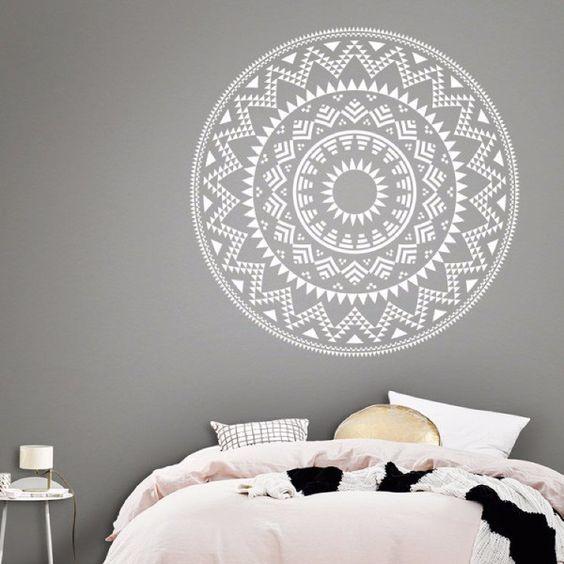 Mandalas. My vinilo. vinilos decorativos. decoración de pared. papel tapiz. Decohunter. Aztec mandala. aztecas. Encuentra donde comprar este producto en Colombia