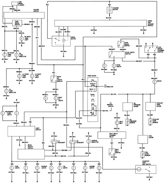 73c382649f12aba4c7ea47d3bfd9a7a9 toyota landcruiser cruisers fj40 wiring diagram diagram wiring diagrams for diy car repairs 1984 fj40 fuse box diagram at bakdesigns.co