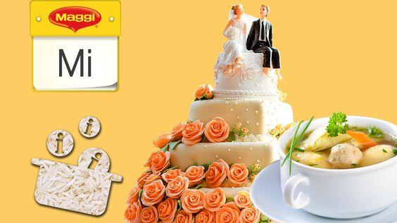 Wusstest du schon, was Reis und Suppe mit dem Eheleben zu tun haben? Und seit wann gibt es eigentlich die Hochzeitstorte? Diese und weitere festliche Fakten findest du in diesem Video.