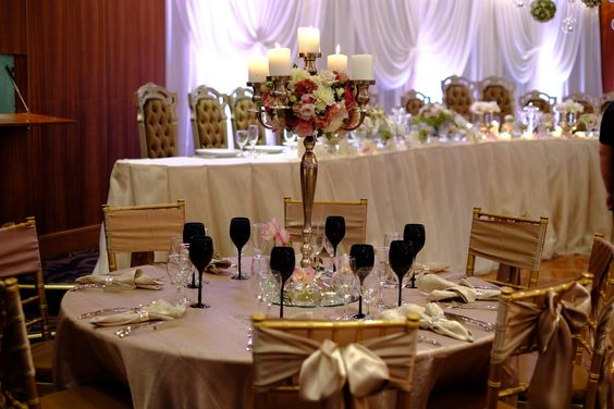 Featuring decor in the Classic Ballroom at Conca D'oro