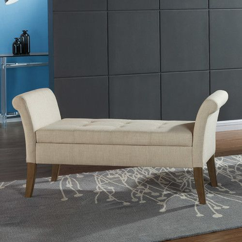 Found it at Wayfair.ca - Upholstered Storage Bedroom Bench