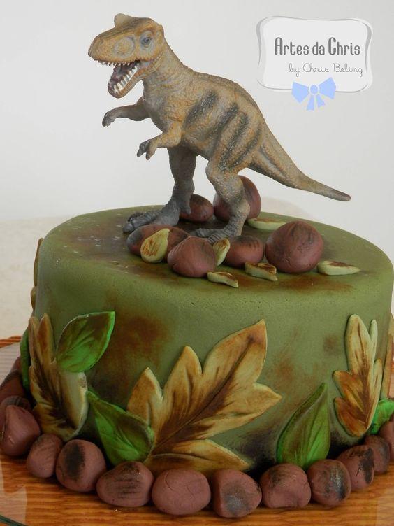 bolo dinossauro - Pesquisa Google