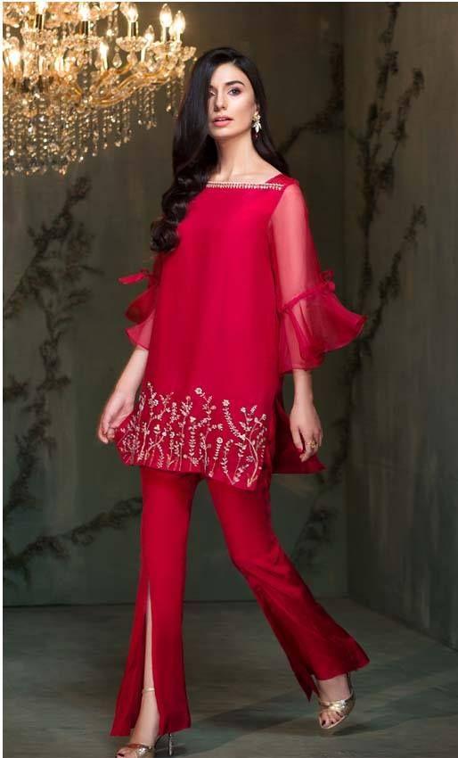Red Wedding Winter dress