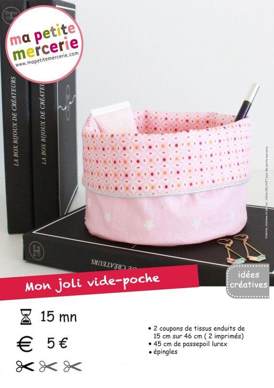 DIY : mon vide-poche réversible + une petite SURPRISE ! - Ma petite Mercerie, le blog