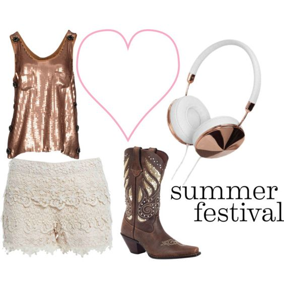 """Festival Fun: Dress Your Bestie for Bonnaroo"" by flirtwithdurango on Polyvore"