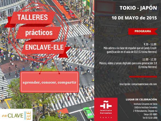 Talleres prácticos en Tokio - 10 de mayo