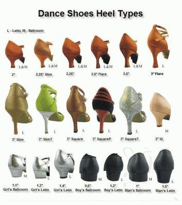 A-10 - Tango Dance Shoe Heels For Your