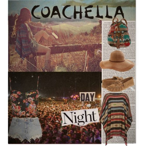 Coachella Day to Night Contest, created by girlscout on Polyvore