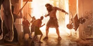 De uitroeiing van de Nephilim wordt verteld in het ''Book of the Giants''